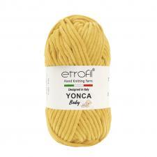 Пряжа Etrofil YONCA (100% полиэстер, 100 гр/100 м),70214 горчица