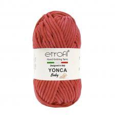 Пряжа Etrofil YONCA (100% полиэстер, 100 гр/100 м),70321 красный