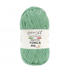 Пряжа Etrofil YONCA (100% полиэстер, 100 гр/100 м),70411 мята