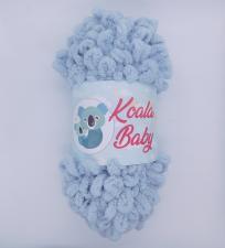 Пряжа Koala baby (100% полиэстер, 180 гр/16,7 м),102 серо-голубой