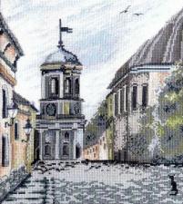 Марья Искусница | Выборг (по картине А.Майской). Размер - 25 х 28 см.