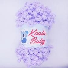 Пряжа Koala baby (100% полиэстер, 180 гр/16,7 м),105 сиреневый