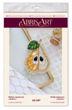 """Набор для вышивки бисером украшения на натуральном художественном холсте """"Дюшес"""""""