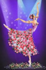 "Набор Olanta (стиль Rococo) ""Танец цветов"". Размер - 17 х 26 см."