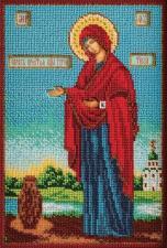 Богородица Геронтисса. Размер - 18 х 27 см.