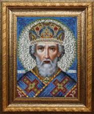 Икона Святого Николая Чудотворца. Размер - 19 х 25 см.