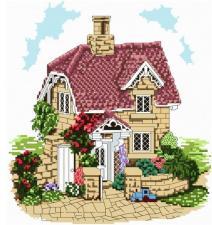 Белоснежка | Уютный домик. Размер - 32 х 34 см.
