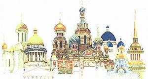Белоснежка   Петербург. Размер - 99 х 59 см.