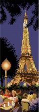Белоснежка | Вечерний Париж. Размер - 11 х 31 см.