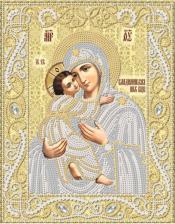 Маричка   Владимирская икона Божией Матери (золото). Размер - 18 х 23 см.