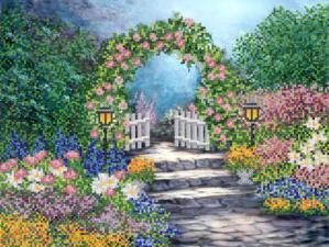 Маричка | Волшебный сад. Размер - 35 х 26 см.