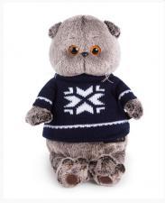 Басик в свитере. Размер - 19 см.