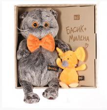 Басик с мышкой Миленой.