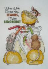 Dimensions | Делаем лимонад! (Make Lemonade!). Размер - 13 х 18 см.
