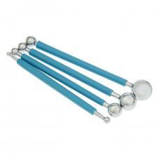 Skroll | Набор металлических стеков с прорезиненной ручкой