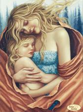 Тэла Артис | Тепло любви. Размер - 24 х 32 см.