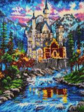 Butterfly | Замок у реки. Размер - 27 х 36 см.