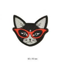 "Термоаппликация ""Кошка"",6х5 см"