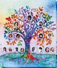 Абрис Арт | Семейное дерево. Размер - 33 х 40 см