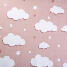 Ткань ранфорс Облака, 130г/м²,100% хлопок, шир.240см, цв.бежевый, рул.3м