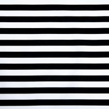 Ткань ранфорс Полоска, 130г/м²,100% хлопок, шир.240см, цв.черный, рул.3м
