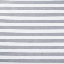 Ткань ранфорс Полоска, 130г/м²,100% хлопок, шир.240см, цв.серый, рул.3м