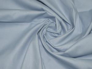 Ткань сатин гладкокрашеный, 120г/м², 100% хлопок, шир.220см, цв.нежно-голубой уп.3м