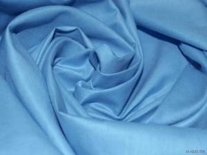 Ткань сатин гладкокрашеный, 120г/м², 100% хлопок, шир.220см, цв.голубой уп.3м