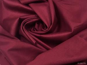 Ткань сатин гладкокрашеный, 120г/м², 100% хлопок, шир.220см, цв.вишнёвый уп.3м
