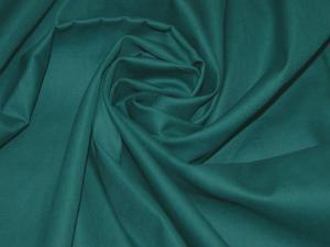 Ткань сатин гладкокрашеный, 120г/м², 100% хлопок, шир.220см, цв.изумруд уп.3м