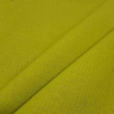 Ткань лён гладкокрашеный, 140г/м², 30% лен + 70% хлопок, шир.150см, цв.16 салатовый уп.3м