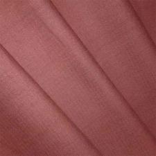 Ткань лён гладкокрашеный, 140г/м², 30% лён + 70% хлопок, шир.150см, цв.41 шоколад уп.3м