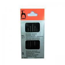 PONY Иглы для кожи размер 3-7 уп.5 шт