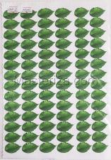Заготовка для аппликаций на ткани (листья розы) ОАР-2