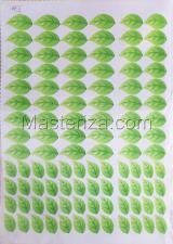 Заготовка для аппликаций на ткани (листья с росой) ОАР-4,А3