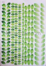 Заготовка для аппликаций на ткани (листья) ОАР-16,А3