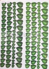 Заготовка для аппликаций на ткани (листья сирени) ОАР-30,А3