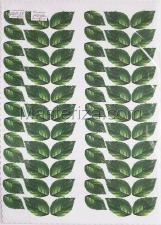 Заготовка для аппликаций на ткани (листья розы) ОАР-33