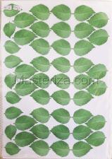 Заготовка для аппликаций на ткани (листья берёзы) ОАР-52,А3