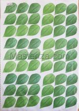 Заготовка для аппликаций на ткани (листья) ОАР-45-3,А3