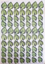 Заготовка для аппликаций на ткани (листья фиалки) ОАР-60-1,А3