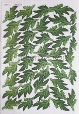 Заготовка для аппликаций на ткани (листья хризантемы) ОАР-63-1