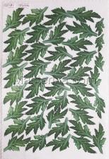 Заготовка для аппликаций на ткани (листья хризантемы) ОАР-63-4