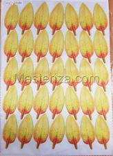 Заготовка для аппликаций на ткани (лепестки лилии) ОАР-66-9