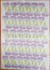 Заготовка для аппликаций на ткани (лепестки шиповника) ОАР-68
