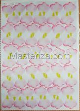 Заготовка для аппликаций на ткани (лепестки розы) ОАР-70,А3