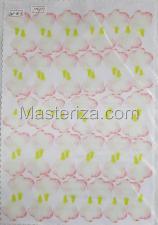 Заготовка для аппликаций на ткани (лепестки розы) ОАР-70-2,А4