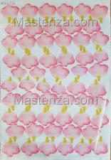 Заготовка для аппликаций на ткани (лепестки розы) ОАР-70-4,А3