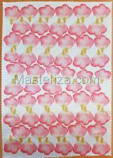 Заготовка для аппликаций на ткани (лепестки розы) ОАР-70-5,А3