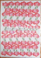 Заготовка для аппликаций на ткани (лепестки розы) ОАР-70-8